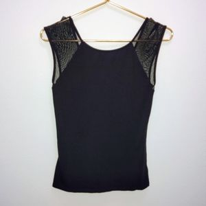 Mesh express sleeveless top